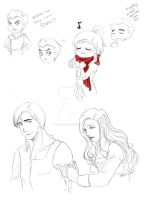 LoK - Scarves and Bandages by TerraForever