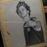 Quick Ashton Irwin Of 5SOS Portrait by ashleymenard122