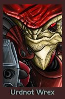 Mass Effect - Urdnot Wrex by Inside-Joke