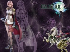 FF13 Lighting Wallpaper by AponiRainbow