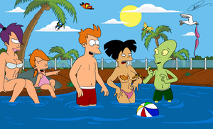Futurama - Enjoy Summer II by Spider-Matt