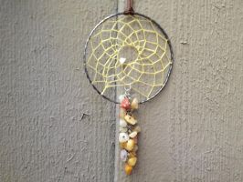 River Rock Dream Catcher by Craft-Me-A-Dream