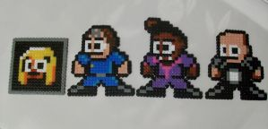 Red Dwarf Megaman Hama Bead Art by Tommassey250