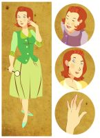 Nancy Drew, Again by lemonflower
