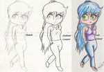 Chibi Crayon :ComExample: by 1knoxluv