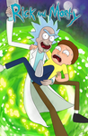 Rick and Morty forever 100 years by lumiran