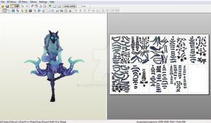 Kindred: Lamb - Papercraft model template by alicestuff