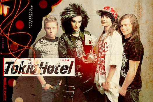 Tokio Hotel EMA's by flisdesigns