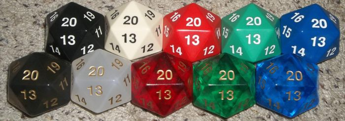 55mm Dice Collection by PoliticalPip