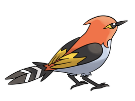 Pkmn - 662 Fletchinder by MapleRose