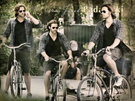 Jared riding a bike by Nadin7Angel