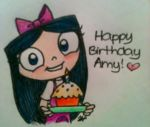 Happy Birthday 14AmyChan by flavia0028
