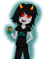Terezi Pyrope : Yum! by amourex