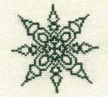Embroidery: Snowflake 3 by Ronjaliek