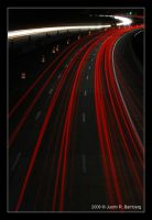 Highway Lights by jrbamberg
