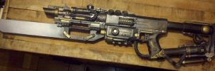 Steam Assault Rifle (Anxious Picture!) by LandgraveCustoms