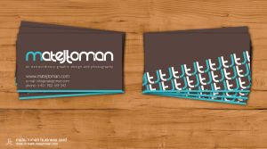 matej toman business card .. by mat3jko