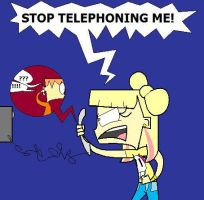 Stop Telephoning Me by aripng