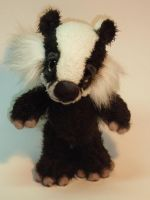 'Dennis' the Badger by mellisea