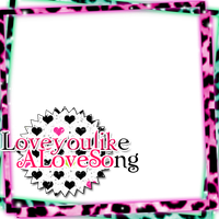 Love You Like A Love Song Png Border by MaddieLovesSelly