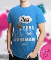Summer T-Shirt by lechham
