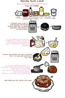Rum Cake Recipe by Turkey-Wang