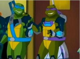 TMNT- Happy Brothers by TMNT224