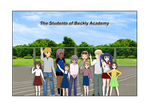 The Students of Beckley Academy by Vonhunter