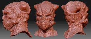 Goofn off in Zbrush by ryanbnjmn