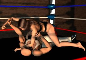 mixed wrestling 25 by cattle6