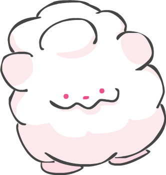 Swirlix aka Marshmallow Dog by Kinneas64