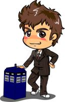 Doctor Who the tenth doc by digikolobong