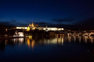 Prague Castle @night by DominikaAniola