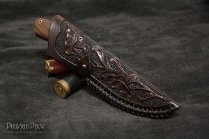 Knife Scabbard by Darvyar
