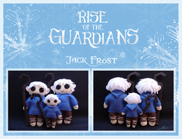 Rise of the Guardians - Jack Frost plushies by caycowa