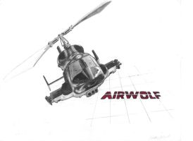 Airwolf by MartinS819