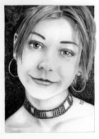 Alyson Hannigan by GrayWolfcg
