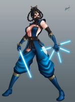 Master Kitana by Karosu-Maker