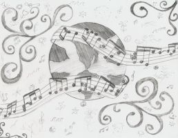 Little Musical Earth by connieishungry