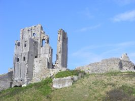 Corfe Castle 27 by LadyxBoleyn