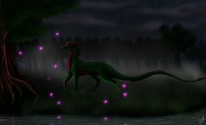 .:AT:. Dark Wanderings by TheSilverDragoness
