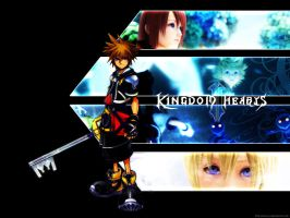 Kingdom Hearts II Wallpaper by kh2-club