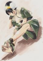 Toph Bei Fong by FarahBoom