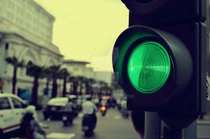 Green light by cazt1811