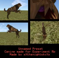 Unnamed Preset by Zophrenia