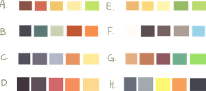 Color Schemes -Free to Use- by Smushey