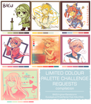 Limited Palette compilation by usarei