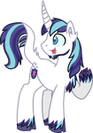 Shining Armor Unique Style by StarryOak