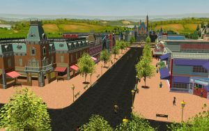 RCT3 Disneyand Main Street by Coasterdl