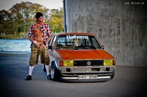 Rolle and his Rusty Jetta by M1ch4